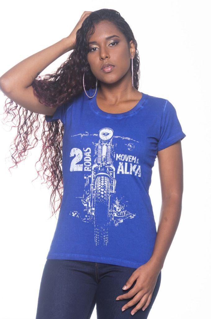 Camiseta Feminina Duas Rodas
