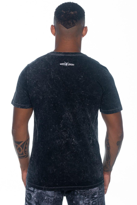 Camiseta Moto Lovers - Lema Motociclista
