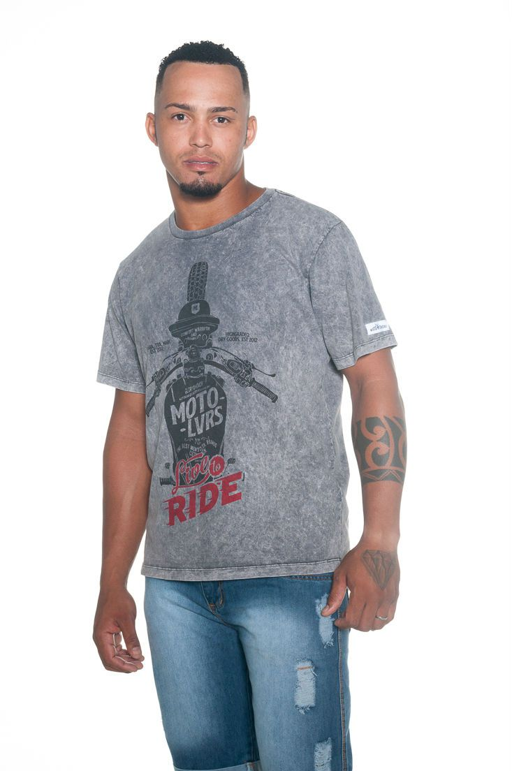 Camiseta Moto Lovers - Live To Ride
