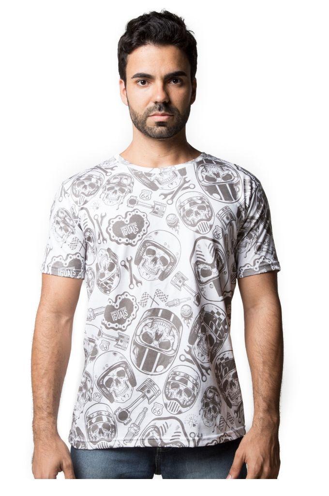 Camiseta Somos Todos Iguais - Branca