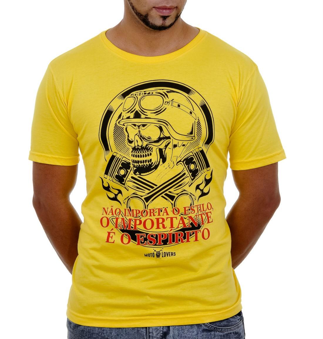 Camiseta Moto Lovers - Não Importa o Estilo