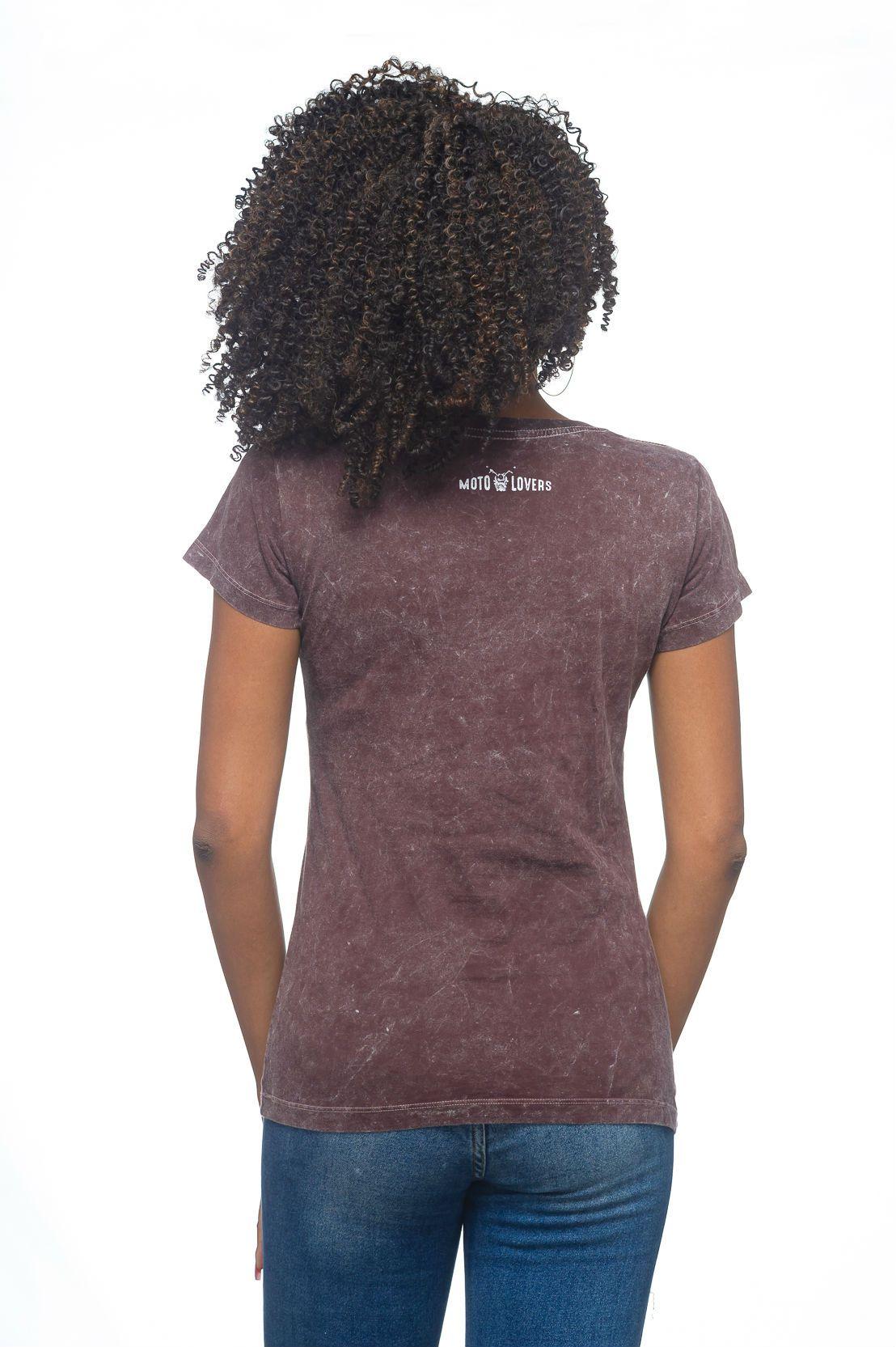 Camiseta Feminina Pilote e Divirta-se