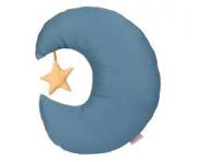 Almofada Adot Infantil Lua Azul - 33 x 21,5 cm