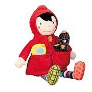 Chapeuzinho Vermelho - Boneca de Atividades Ebulobo