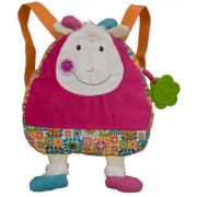 Happy Farm - Mochila Infantil em Tecido Jef - Ebulobo