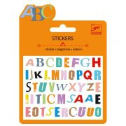 Mini Stickers Djeco - Adesivos Colantes Letras do Alfabeto