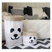 Saco Organizador Infantil para Brinquedos - Bag Panda