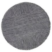 Tapete Lorena Canals em Lã Woolable - Black Tea 1,60 diam.