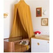 Tenda de Teto em Viscose - Amarelo Mostarda