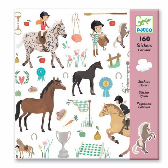 Adesivos Djeco - Cavalos