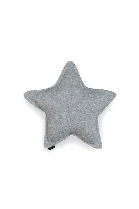 Almofada Estrela - Cinza Mescla