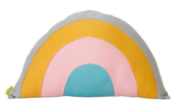 Almofada Adot Infantil Arco-íris - 40 x 25 cm