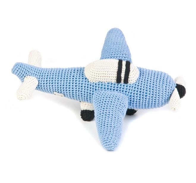 Anne Claire Petit - Avião em Crochet