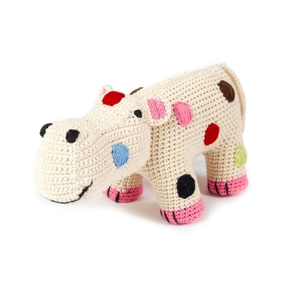 ANNE CLAIRE PETIT - HIPPO EM CROCHET