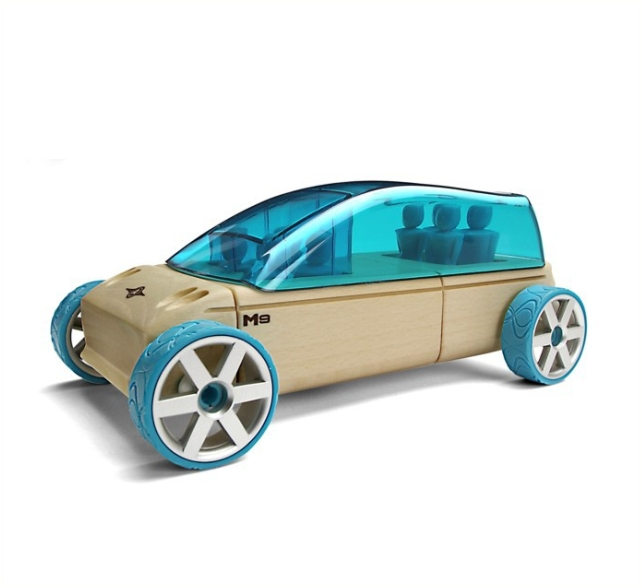 Automoblox- Carro em Madeira M9 Van
