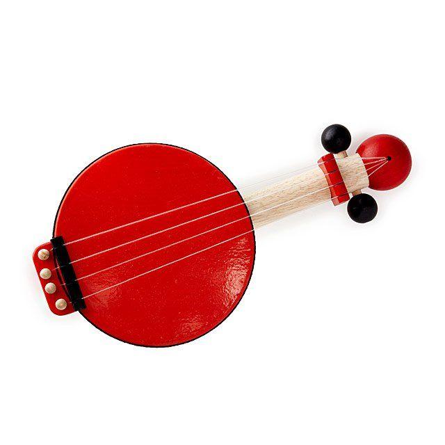 Banjo PlanToys em Madeira Infantil