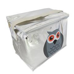Bolsa Térmica Metalizada - Coruja