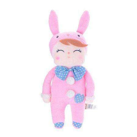 Boneca Metoo Doll Pink Bunny - Bebê Coelho Rosa 31 cm