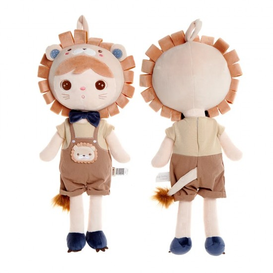Boneco Metoo Jimbao - Boy Leão 46 cm