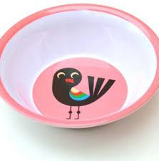 Bowl Infantil Omm Design - Pássaro