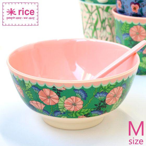 Bowl Rice Dk em Melamina - Bindweed 7 x 11,5 cm