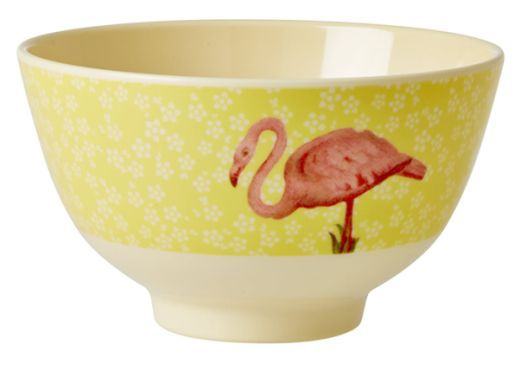Bowl Rice Dk em Melamina - Flamingo 7 x 11,5 cm