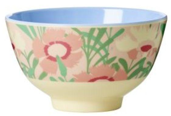 Bowl Rice Dk em Melamina - Flora 7 x 11,5 cm