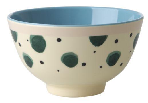 Bowl Rice Dk em Melamina - Splash Verde 7 x 11,5 cm