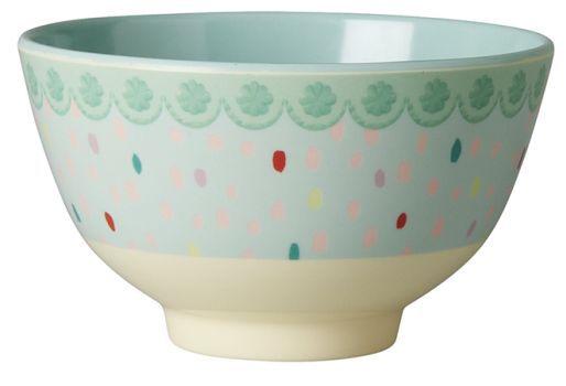 Bowl Rice Dk em Melamina Gotas - 8 x 15 cm