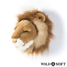 Cabeça de Parede Wild and Soft - Leão