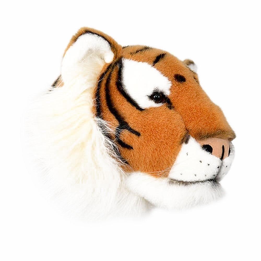 Cabeça de Parede Wild and Soft - Tigre Marrom