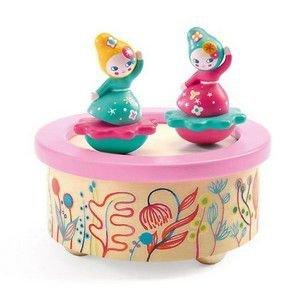 Caixa de Música Djeco - Bailarinas Flores
