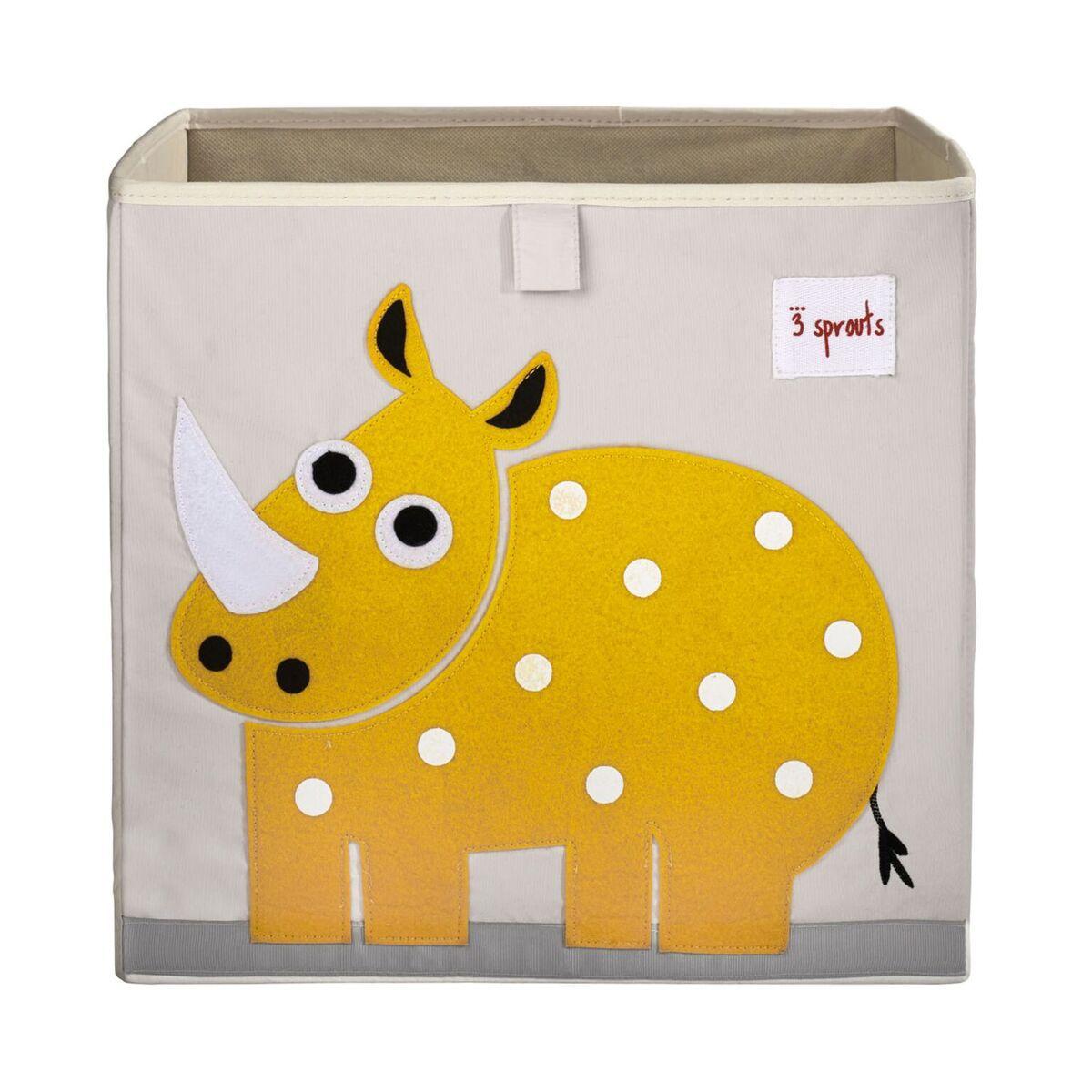 Caixa Organizadora 3 Sprouts Quadrada - Rhino