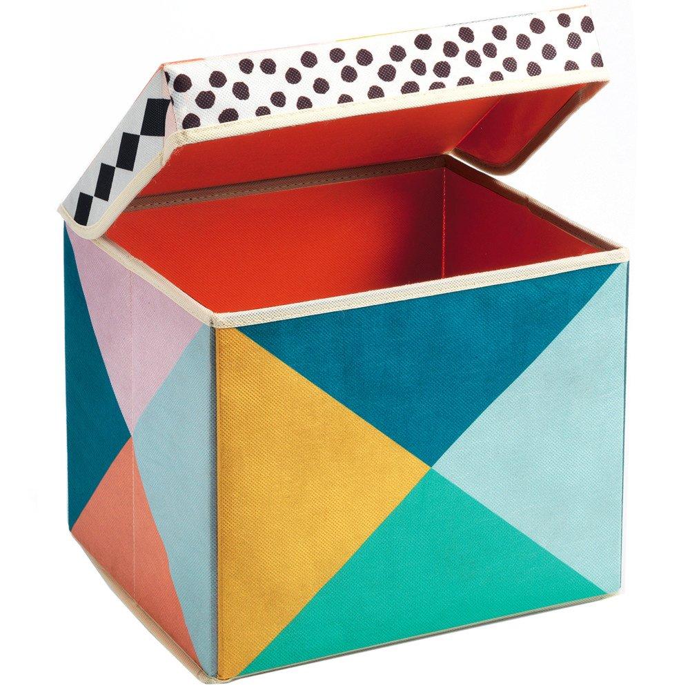 Caixa Organizadora Infantil Djeco Multicolorida Circo