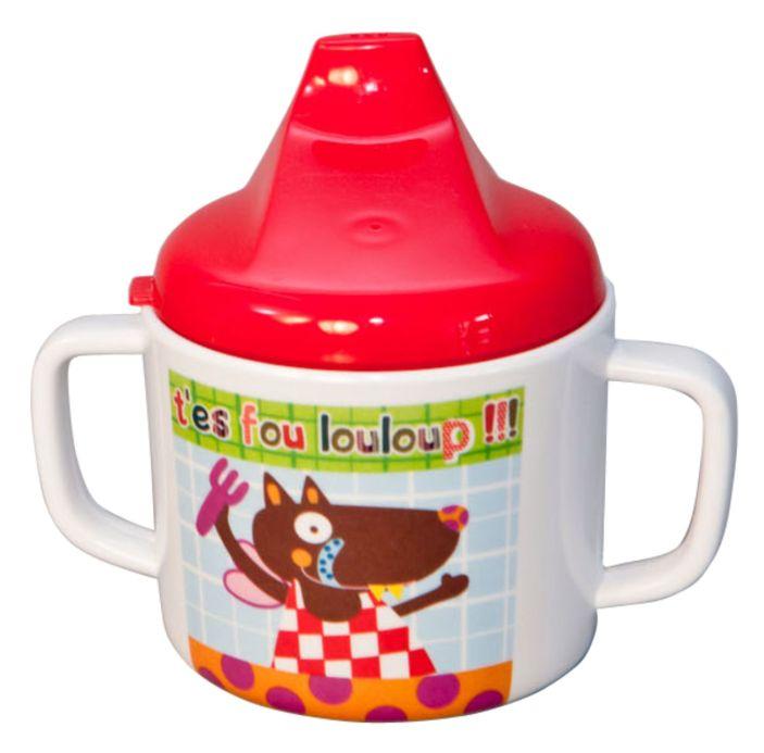 Caneca Infantil com Tampa Ebulobo - Louloup