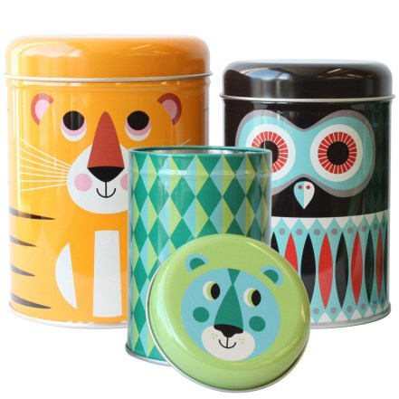 Omm Design - Set  3 Latas Decorativas