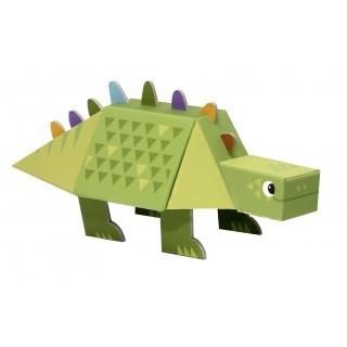 Dinossauro para Montar - Estegossauro - Krooom