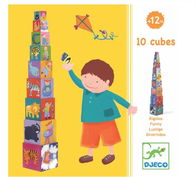 DJECO - CUBOS FUNNY