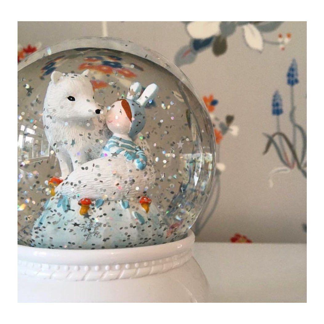 Djeco Luminária Lila e Pupi - Bola de Neve