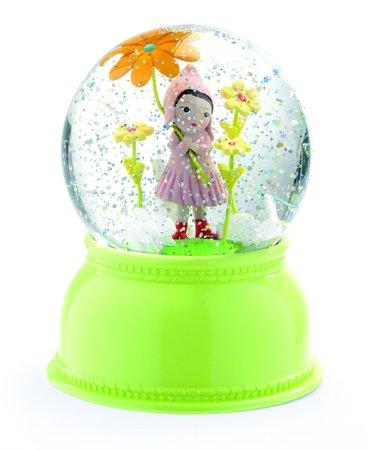 Luminária Bola de Neve Djeco - Menina Flor