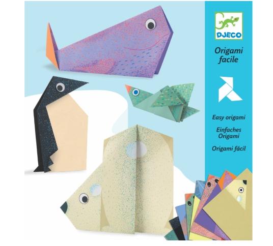 Dobradura Origami Djeco - Animais Polares