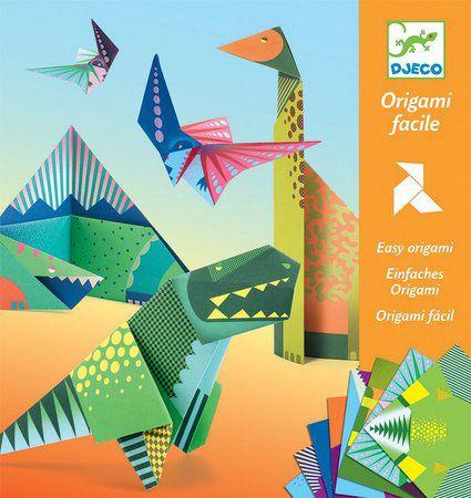 Dobradura Origami Djeco - Dinossauros