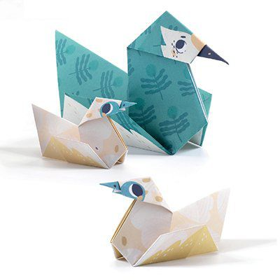 Dobradura Origami Djeco - Família
