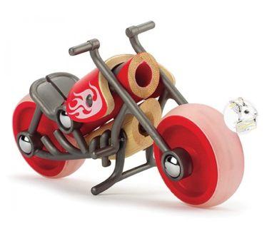 Hape - Moto E-choper em Bambu