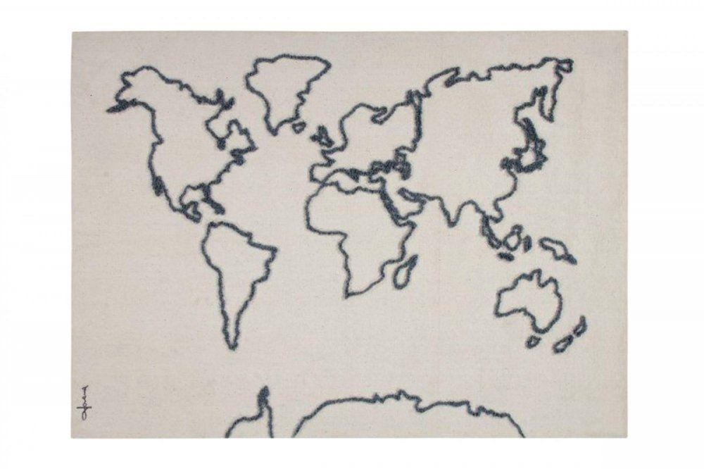 Enfeite de Parede Lorena Canals - Mapa em Canvas 1.20 x 1.60 mt