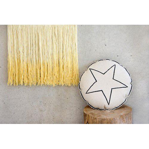 Enfeite de Parede Lorena Canals - Tie Dye Amarelo