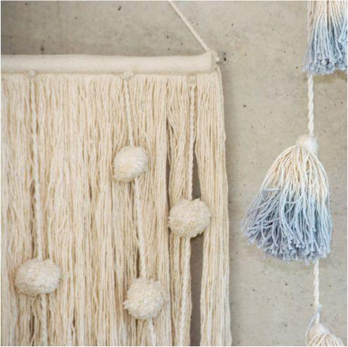Enfeite Lorena Canals Cotton Field (Algodão) - 60 x 35 cm