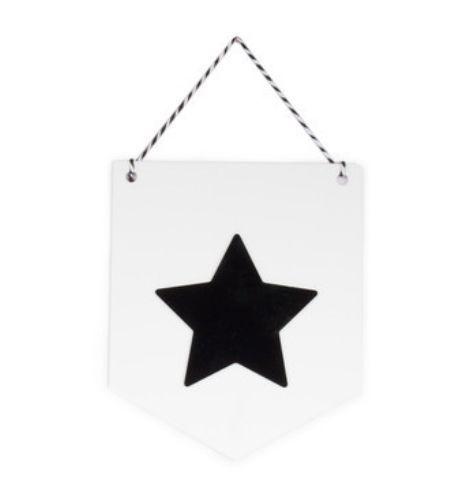 Flâmula Adot em Acrílico - Estrela Preta