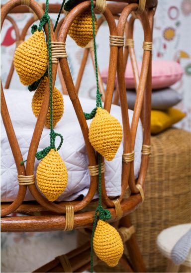 Fio de Limão Siciliano em Crochet