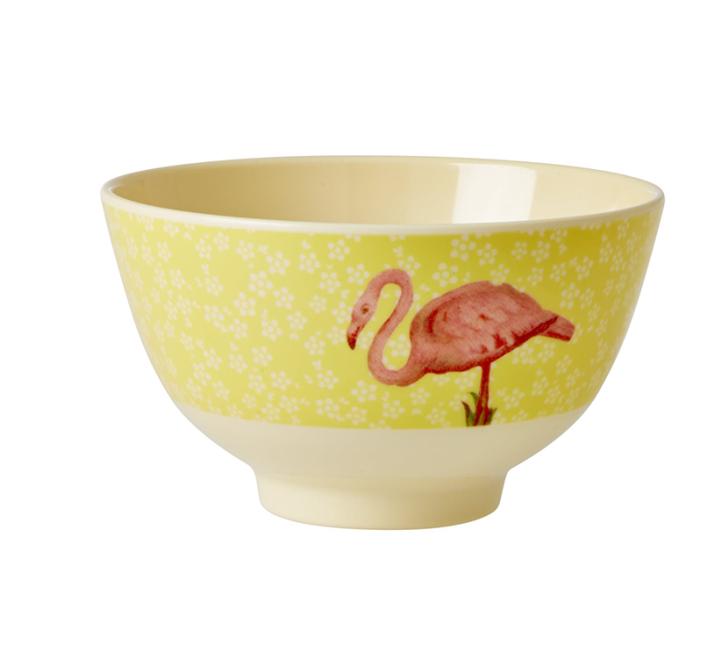 Bowl Rice em Melamina - Flamingo